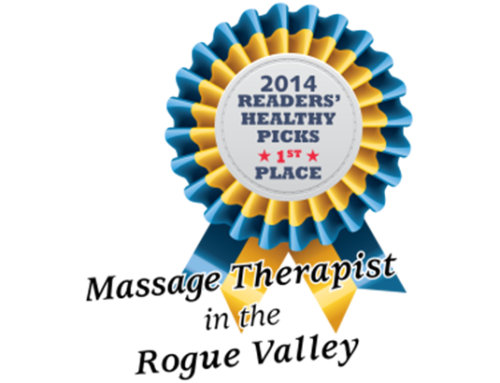 Melissa A. Bailey, LMT Voted Southern Oregon Healthy Living's 2014 Massage Therapist of the Year!
