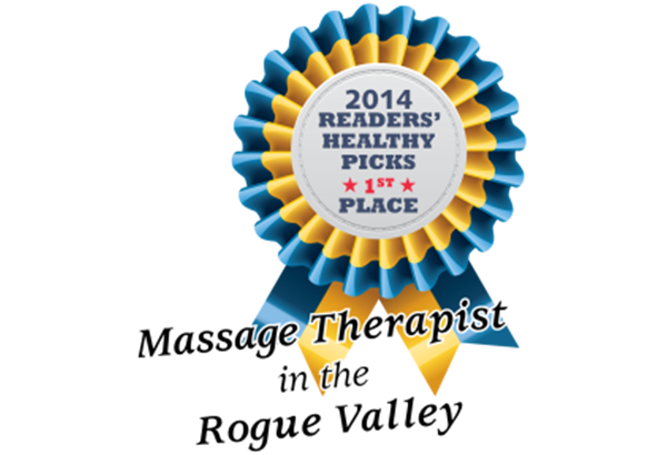 Southern Oregon Healthy Living 2014 Massage Therapist of the Year